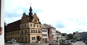 Das Colditzer Renaissance-Rathaus