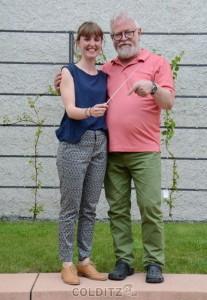 Die Dirigenten - Sophie Hegewald und Bernd Brückner