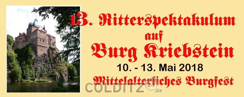 Ritterspektakulum auf Burg Kriebstein