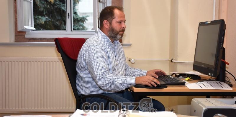 Stadtteilmanager Andres Röding