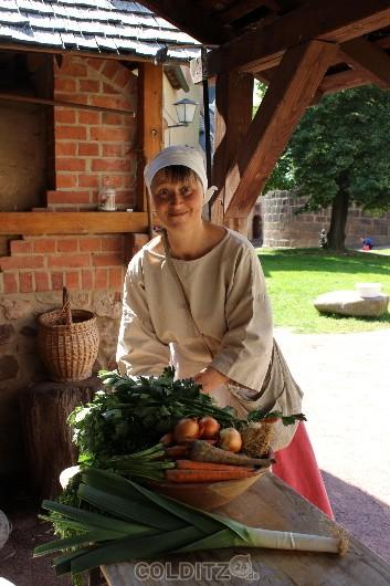 Küchenmagd Annett Steinert (Foto: BML)