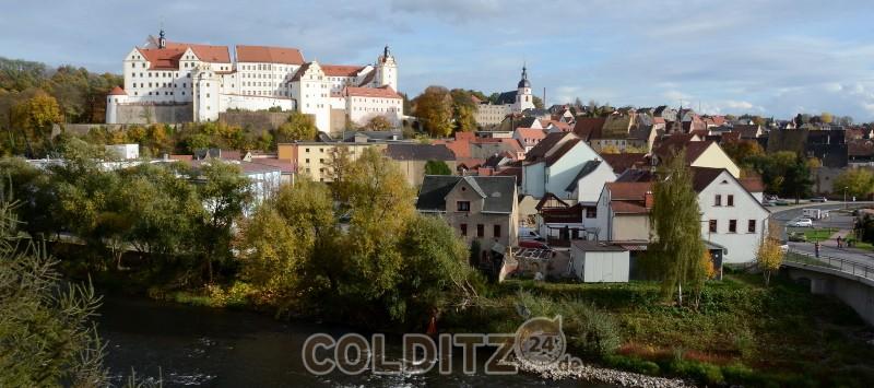 Blick über Colditz