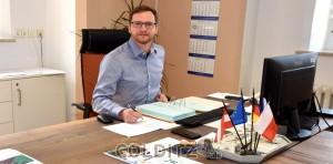 BM Robert Zillmann an seinem Arbeitsplatz