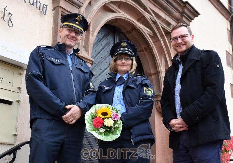 Unsere neue Büregerpolizistin S. Lietsch