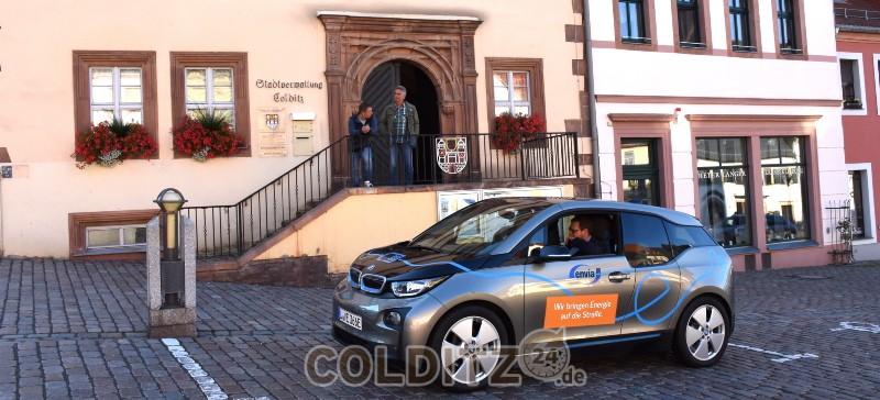 Colditz testet das E-Mobil