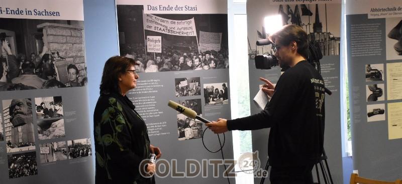 Die Leiterin der Außenstelle Leipzig im Interview mit Muldental-TV