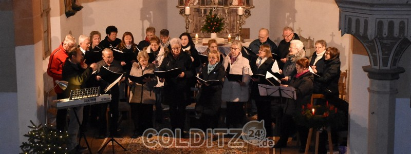 Adventsmusik in der Zschirlaer Kirche