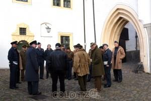 Hier wird ein Stück Geschichte von Colditz Castle erzählt