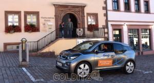 Der Testwagen in Colditz