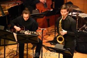 Saxophon und Gitarre...