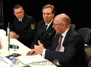 Das Thema Ordnung und Sicherheit - ein fachübergreifendes Thema zwischen Justiz, Innenminister und Polizei