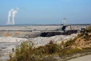 Tagebaulandschaft südlich von Leipzig