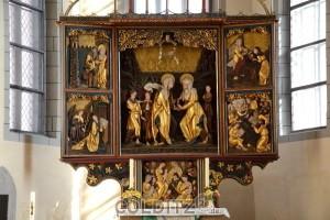 Altar St.-Marien-Kirche Borna
