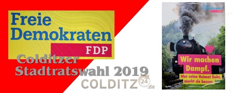 Stadtratswahl Colditz 2019 FDP
