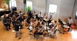 Abschlusskonzert des diesjährigen Kammermusikkurses im Saal der LMA