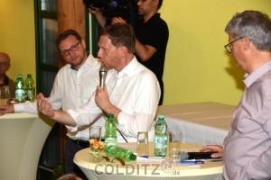 MP Kretschmer beantwortet ohne Umschweife die Fragen