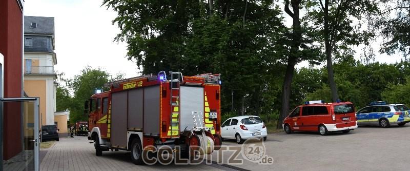 Feuerwehren vor Ort