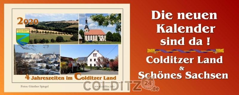Colditzer Kalender - die begehrten Sammlerstücke
