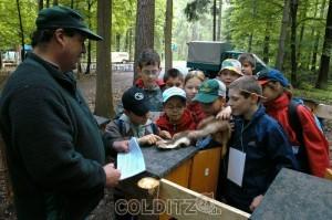 Arbeit mit Kindern im Colditzer Wald - schon 2003