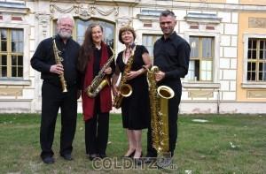 Das Leipziger Saxophonquartett