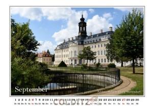 Schloss Hubertusburg - ein Prachtstück August des Starken