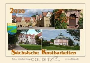 Der Kalender zeigt unsere sächsischen Kostbarkeiten