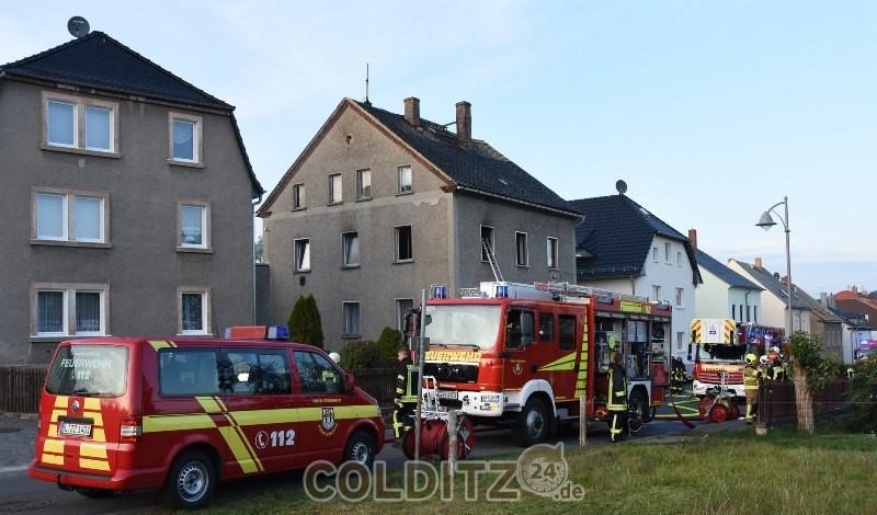 Feuerwehreinsatz in Colditz - Thumirnicht