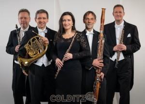 Das Bläserquintett der Sächsischen  Bläserphilharmonie