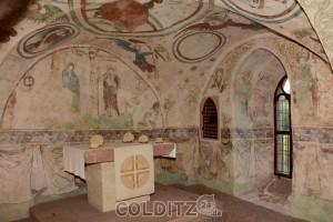 Der Altar in der Kapelle von 1410
