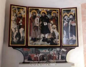 Altar aus dem 16. Jahrhundert