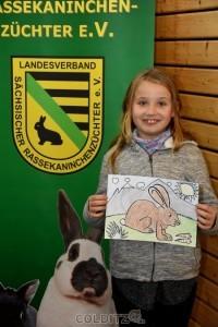 Tanja errang für Ihr Bild auch einen Preis
