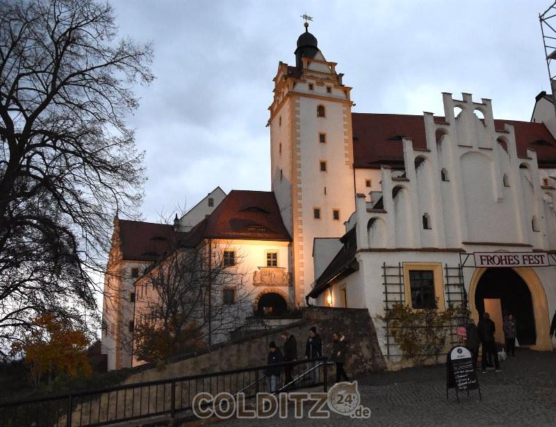 Weihnachtliche Stimmung am Schloss