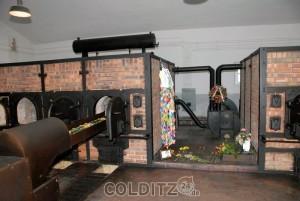 Krematorium im KZ Buchenwald