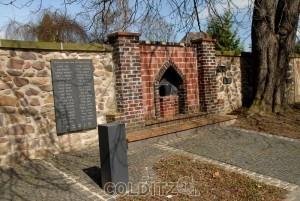 Jüdische Gedenkstätte an der Colditz Friedhofsmauer