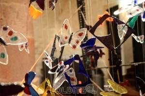 """Kunstprojekt """"ein Schmetterling für jedes getötete Kind"""" im SC"""