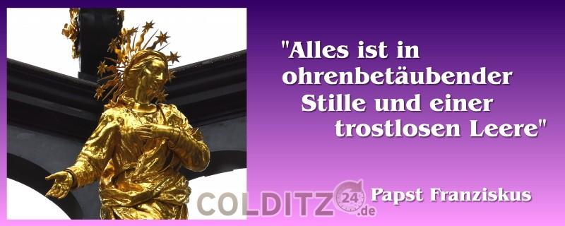 "Worter vom Papst Franziskus - ""Urbi et orbi"""