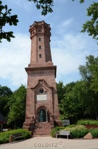 Der Friedrich-August-Turm auf dem Rochlitzer Berg