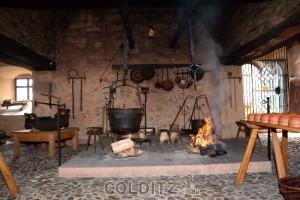 Die Schwarzküche im Schloss Rochlitz