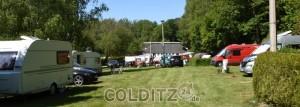 Mit Wohnwagen oder Zelt mitten im historischen Tiergarten...