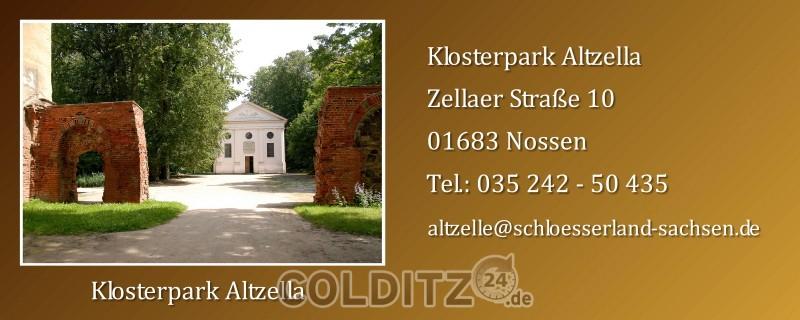 Klosterpark Altzella bei Nossen