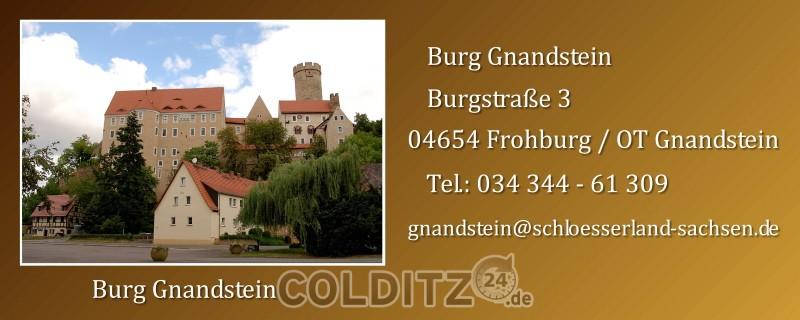 Burg Gnandstein bei Frohburg und Kohren-Sahlis