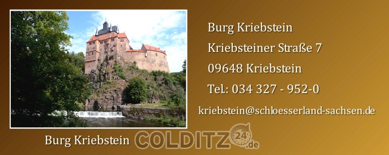 Kriebstein - die schönste Ritterburg Deutschlands