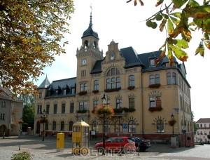 Markt mit Rathaus Bad Lausick