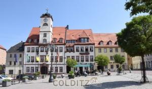 Der Leisniger Marktplatz