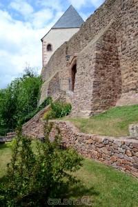 Gärten rund um die Burg...