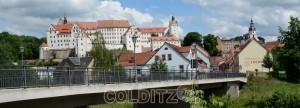 Der erste Eindruck von Schloss Colditz...