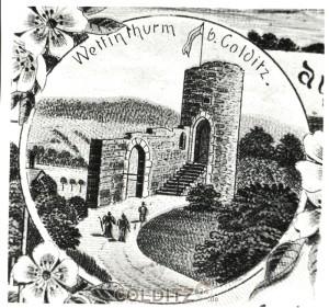 Der Wettin-Turm zum 800sten Jahrestag der Wettiner (Foto: S_Archiv)