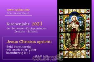 Ev. Kirchen-Kalender 2021