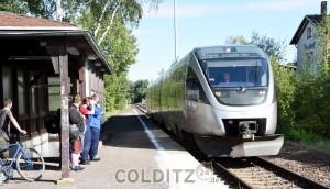 Per Bahn zwischen Leipzig und Döbeln