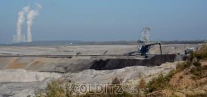 BK-Tagebau nahe Lippendorf; sein Aus steht bevor